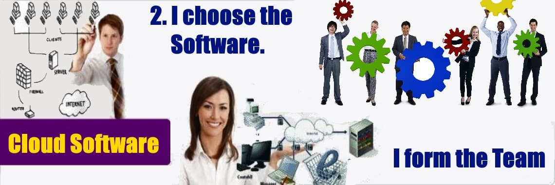 I choose the software
